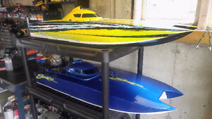 "Gas RC Collection 2 Stroke. 47"" Bonzi Boats, HPI Baja's MUST SEE"