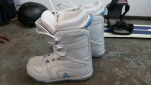 Ladies snowboard boots $70.00