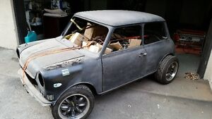 Mini austin rear engine V6 ,RWD, moteur Arriere V6 vw