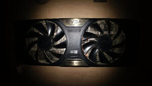Nvidia Evga 770 Super clocked active cooling Xtreme