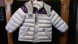 Boys 4T down filled coat..EXCELLENT condition