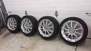 Summer tires and wheels 215 45 17 on 17x7