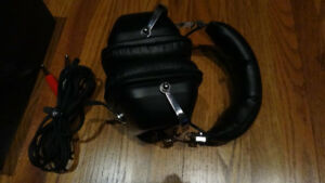 Vintage Unisound MS-422 and Koss PRO 4AAA Stereo Headphones