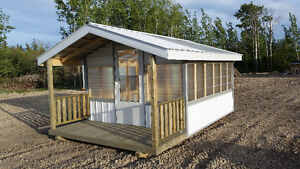 Greenhouses for sale.
