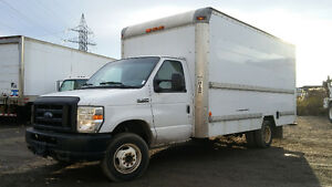 2008 Ford E-350 cube 16 pied.avec rampe .INSPECTION SAAQ FAIT !!