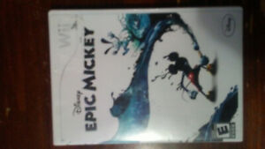 Wii Epic Mickey used game