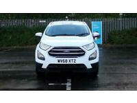 2018 Ford Ecosport 1.0 EcoBoost Zetec 5dr Hatchback petrol Manual