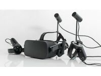 Oculus Rift CV+2 controllers+2 sensors Bundle