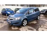 Vauxhall/Opel Zafira 1.9CDTi 16v ( 150ps ) ( Exterior pk ) 2008.5MY SRi