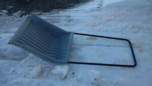 snow scoop for large snow removal