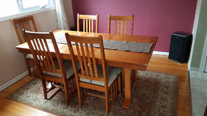 Dining Table with Five (5) Chairs