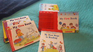 My first steps to reading and math book series