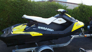 2015 Sea Doo Spark/Trailer and tube included/Low hours