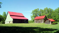 OPEN HOUSE: Renovated 1840's Farmhome; Optional Waterfont