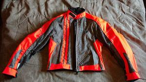 Ladies Medium Motorcycle Jacket and Pants