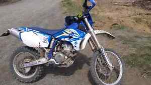 2005 WR450F with street title