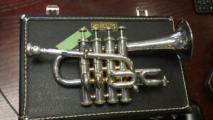 Getzen Eterna Piccolo Trumpet with Case