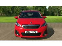 Peugeot 108 1.0 Active 5dr Hatchback Petrol Manual