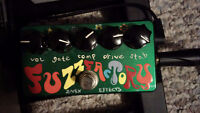 Hand painted Z-Vex Fuzz Factory