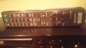 SONY BRAND C.D  D.V.D  PLAYER COMES WITH FACTORY REMOTE