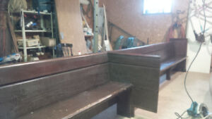 1872 Anglican Church pew