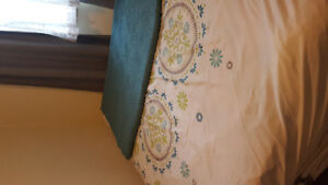 Double Bed Mattress ,Box Spring and Rails
