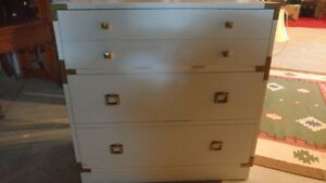 Solid Wood White Dresser