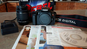 Canon Rebel T5i EOS 700D, with EF 18-55 IS STM lens