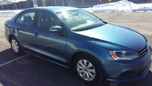 JETTA 2015 Trendline+ Takeover Lease Tres prope! 290$/month!!