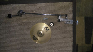 Sabian 8-inch Splash Cymbal with stand attachment