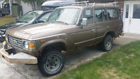 1984 Toyota Land Cruiser HJ60, Canadian Specs