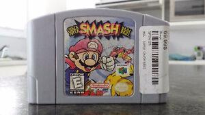 Super Smash Bros N64 Parfaite Condition