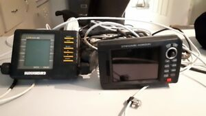 Marine GPS and fishfinder