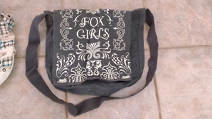 Ladies fox bag/ purses