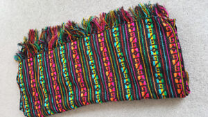 Mexican handwoven wrap