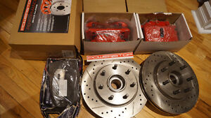 Disque + hub, calipers et pads FORD F150 05-08 ---vaut 1200$ --