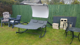 Sun lounger double bed