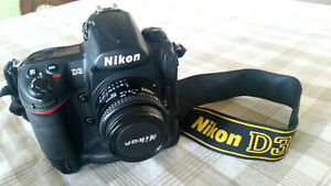 NIKON D3  $1400 with 50mm lens obo Shutter count 57,631.
