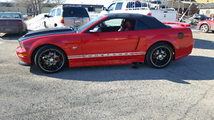 SUPERCHARGED MUSTANG CONVERTIBLE