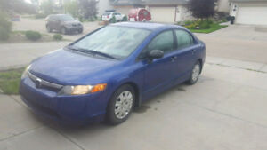 2006 Honda Civic Automatic(Blue Color)- reduced price