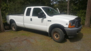 2001 FORD F-250 SUPERCAB 4X4- reduced