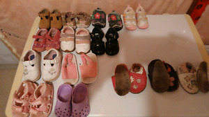 Size 2 - 5 girls shoes