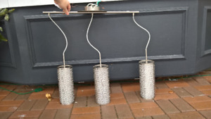 Pendent Ceiling Lights: 1x and 3x lights available