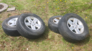 4 Jeep Tires & Rims