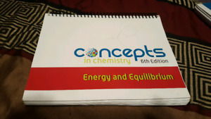 Energy a d equilibrium work book