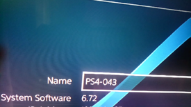Ps4 6.72 firmware swap for ps4 pro