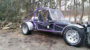Better than a motorcycle Street legal dune buggy