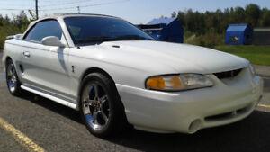 Mustang SVT Cobra 1995 décapotable