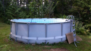Coleman 16 ft X4ft swimming pool
