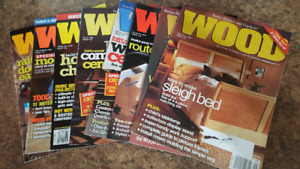 WOOD Magazines - Box of 75